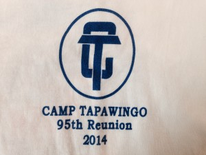 95th Reunion T-Shirt Front Side