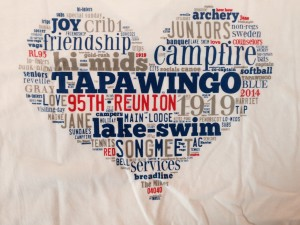 95th Reunion T-Shirt Back Side